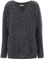 Humanoid V-neck sweater