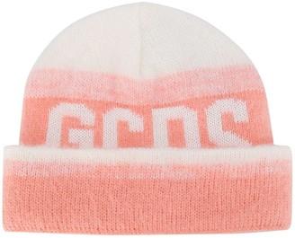 GCDS Gradient Logo Beanie