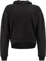 Haider Ackermann classic hooded sweatshirt - women - Cotton/Spandex/Elastane/Cupro/Rayon - S