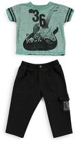Amy Coe Boys' Rock Guitar Tee & Pants Set - Sizes 2-7