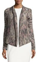 Jones New York Multicolor Draped Cardigan
