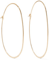 Melissa Joy Manning 14-karat Gold Hoop Earrings - one size
