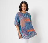 Tolani Collection Regular Printed Woven Caftan Tunic