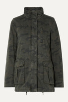 James Perse Camouflage-print Cotton Jacket