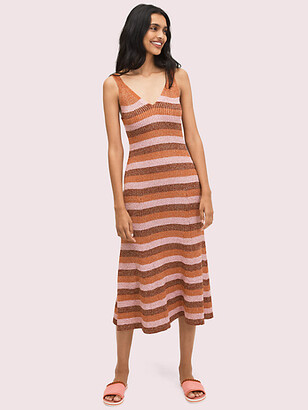 Kate Spade Sparkle Stripe Sweater Dress