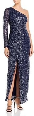 Aqua One-Shoulder Gown - 100% Exclusive