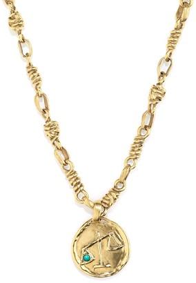 The Webster X Goossens Libra Talisman Necklace