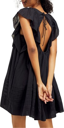 Free People Hailey Ruffle Babydoll Minidress