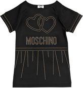 Moschino Studded Milano Jersey Dress