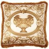 Versace La Vase Baroque Silk Accent Pillow