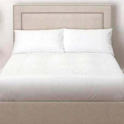 The White Company Cavendish Headboard Linen Union, Natural Linen Union, Double