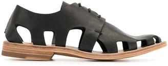 Officine Creative Graphite lace-up shoes
