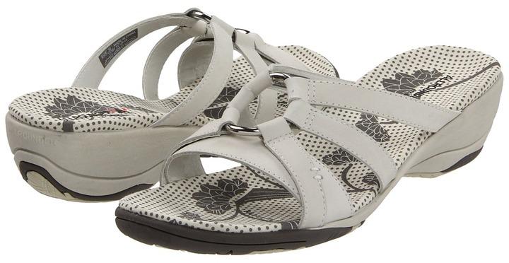 Allrounder by Mephisto Esra (Off White Nubuck) - Footwear