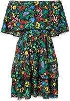 Alice + Olivia Alice+Olivia - Wild Flower print dress - women - Nylon/Polyester/Spandex/Elastane/Viscose - 0