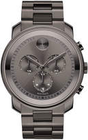 Movado 44mm Bold Chronograph Watch, Gray