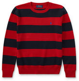 Ralph Lauren Childrenswear Striped Cotton Sweater