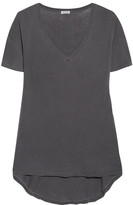 Splendid Vintage Whisper Cotton-jersey T-shirt - Charcoal