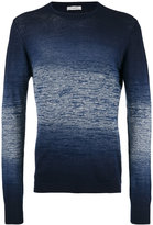 Paolo Pecora gradient-effect sweater - men - Cotton/Linen/Flax - L