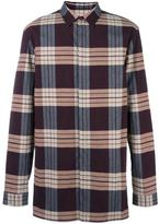 Helmut Lang plaid shirt - men - Cotton/Spandex/Elastane - XS
