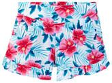 Splendid Hibiscus Print Short (Little Girls)