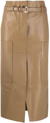 Petar Petrov High-Waisted Panelled Skirt