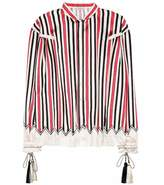 Etro Striped silk shirt