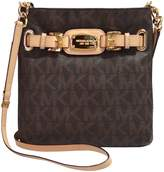 Michael Kors Hamilton Signature PVC Large Crossbody