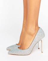 Faith Chloe Multi Glitter Pointed Pumps