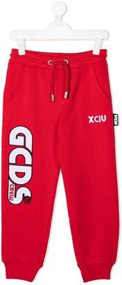 Gcds Kids Logo-Print Track Pants