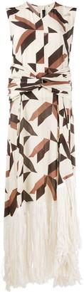 Rokh Geometric Shift Dress