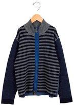 Burberry Boys' Striped Wool Cardigan