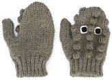 Stella McCartney 'Snappy' crocodile gloves