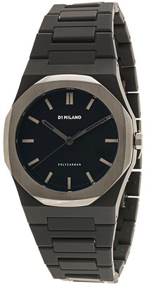 D1 Milano Polycarbon Space Grey 40.5mm watch