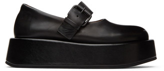 Marsèll Black Platform Buckle Shoes