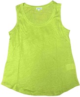 Claudie Pierlot Green Linen Top for Women
