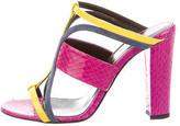 Oscar de la Renta Lonni 100 Slide Sandals w/ Tags