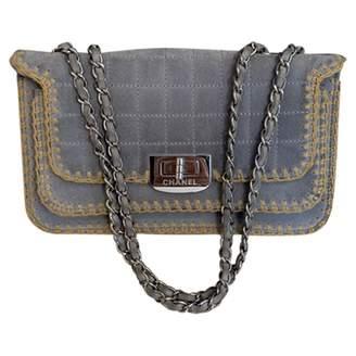 Chanel \N Grey Suede Handbags