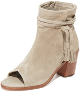 Matt Bernson Billie Tassel Open Toe Booties