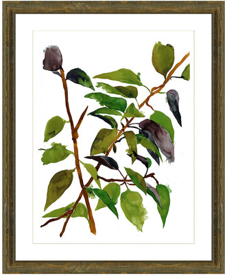 Vintage Print Gallery Branches In The Wind I Framed Graphic Art