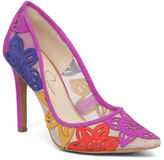 Jessica Simpson Charese Floral Pumps