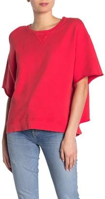 Hudson Cut Sleeve Pullover Sweatshirt