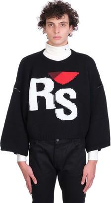 Raf Simons Knitwear In Black Wool