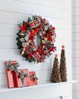 Mackenzie Childs MacKenzie-Childs Tartan Frost Wreath