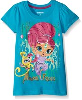 Nickelodeon Little Girls' Shimmer and Shine Magical Friends Tee