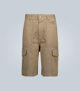 AMI Paris Denim cargo shorts