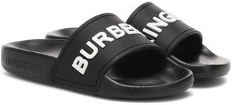 BURBERRY KIDS Burberry Kingdom slides
