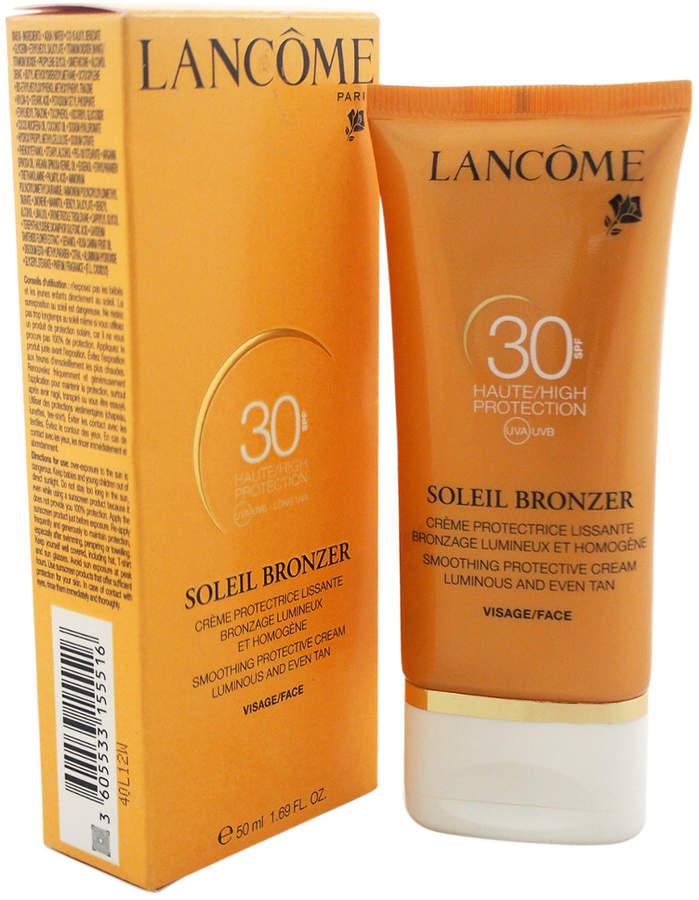 Lancôme 1.69Oz Soleil Bronzer Protective Cream Spf 30