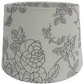Bed Bath & Beyond Mix & Match Small 7-Inch Flower Print Hardback Drum Lamp Shade