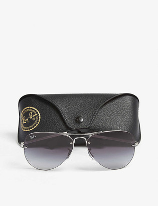 Ray-Ban RB3449 pilot-frame sunglasses
