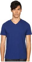 Vince Pima Short Sleeve Classic V-Neck Men's Clothing